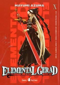 Copertina ELEMENTAL GERAD n.10 - ELEMENTAL GERAD (m18), STAR COMICS