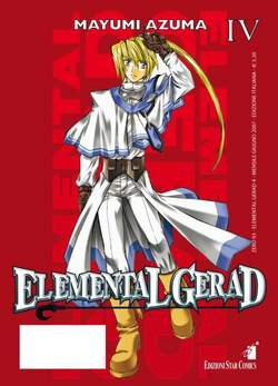 Copertina ELEMENTAL GERAD n.4 - ELEMENTAL GERAD (m18), STAR COMICS