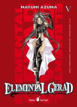 Copertina ELEMENTAL GERAD n.5 - ELEMENTAL GERAD (m18), STAR COMICS