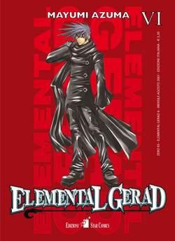 Copertina ELEMENTAL GERAD n.6 - ELEMENTAL GERAD (m18), STAR COMICS
