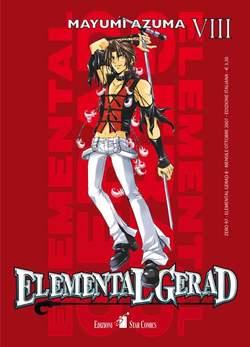 Copertina ELEMENTAL GERAD n.8 - ELEMENTAL GERAD (m18), STAR COMICS