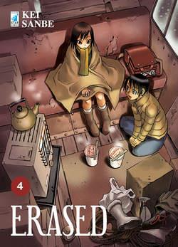 Copertina ERASED n.4 - ERASED (m9), STAR COMICS