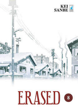Copertina ERASED n.8 - ERASED (m9), STAR COMICS