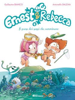 Copertina ERNEST & REBECCA n.4 - IL PAESE DEI SASSI CHE CAMMINANO, STAR COMICS