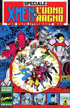 Copertina EVOLUTIONARY WAR n.1 - EVOLUTIONARY WAR             1, STAR COMICS