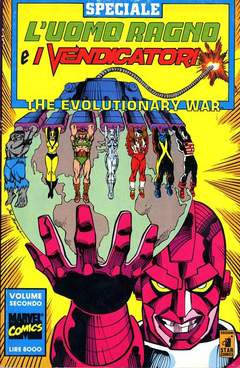 Copertina EVOLUTIONARY WAR n.2 - EVOLUTIONARY WAR             2, STAR COMICS