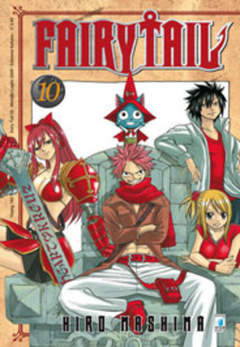 Copertina FAIRY TAIL n.10 - FAIRY TAIL, STAR COMICS