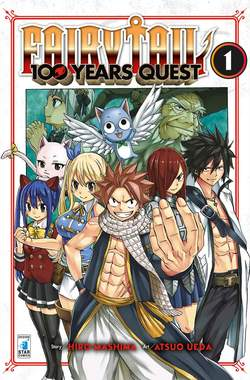 Copertina FAIRY TAIL 100 YEARS QUEST n.1 - YOUNG 304, STAR COMICS