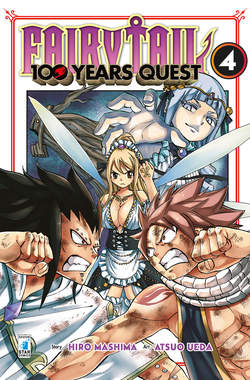 Copertina FAIRY TAIL 100 YEARS QUEST n.4 - YOUNG 313, STAR COMICS