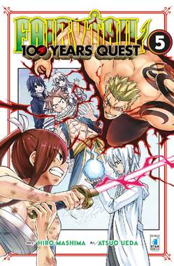 Copertina FAIRY TAIL 100 YEARS QUEST n.5 - YOUNG 316, STAR COMICS