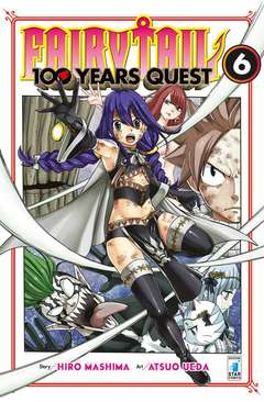 Copertina FAIRY TAIL 100 YEARS QUEST n.6 - YOUNG 319, STAR COMICS