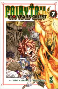 Copertina FAIRY TAIL 100 YEARS QUEST n.7 - YOUNG 322, STAR COMICS