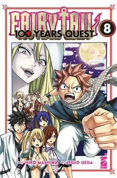 Copertina FAIRY TAIL 100 YEARS QUEST n.8 - YOUNG 326, STAR COMICS