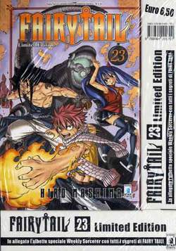 Copertina FAIRY TAIL n.23 - FAIRY TAIL LIMITED EDITION + albetto speciale, STAR COMICS