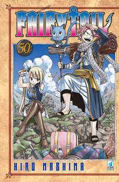 Copertina FAIRY TAIL n.50 - FAIRY TAIL, STAR COMICS