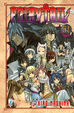 Copertina FAIRY TAIL n.51 - FAIRY TAIL, STAR COMICS