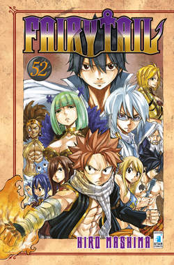 Copertina FAIRY TAIL n.52 - FAIRY TAIL, STAR COMICS