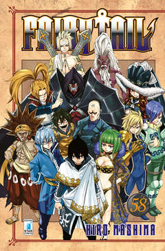 Copertina FAIRY TAIL (m63) n.58 - FAIRY TAIL, STAR COMICS