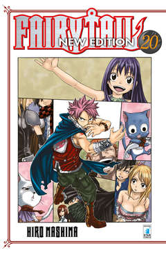 Copertina FAIRY TAIL NEW EDITION n.20 - FAIRY TAIL NEW EDITION, STAR COMICS