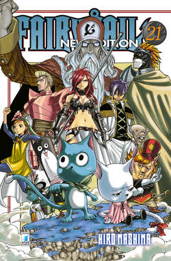 Copertina FAIRY TAIL NEW EDITION n.21 - FAIRY TAIL NEW EDITION, STAR COMICS