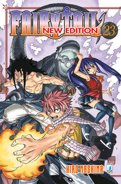 Copertina FAIRY TAIL NEW EDITION n.23 - FAIRY TAIL NEW EDITION, STAR COMICS
