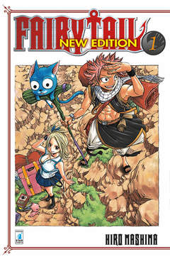 Copertina FAIRY TAIL NEW EDITION n.1 - FAIRY TAIL NEW EDITION, STAR COMICS
