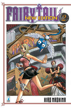 Copertina FAIRY TAIL NEW EDITION n.2 - FAIRY TAIL NEW EDITION, STAR COMICS