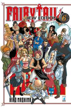 Copertina FAIRY TAIL NEW EDITION n.6 - FAIRY TAIL NEW EDITION, STAR COMICS