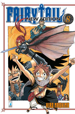 Copertina FAIRY TAIL NEW EDITION n.8 - FAIRY TAIL NEW EDITION, STAR COMICS