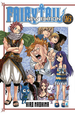 Copertina FAIRY TAIL NEW EDITION (m63) n.16 - FAIRY TAIL NEW EDITION, STAR COMICS