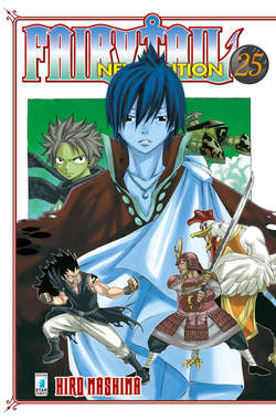 Copertina FAIRY TAIL NEW EDITION (m63) n.25 - FAIRY TAIL NEW EDITION, STAR COMICS