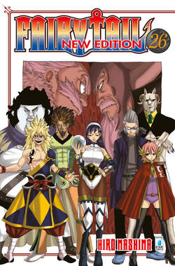 Copertina FAIRY TAIL NEW EDITION (m63) n.26 - FAIRY TAIL NEW EDITION, STAR COMICS