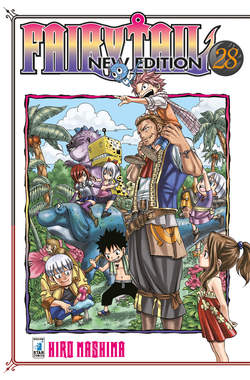 Copertina FAIRY TAIL NEW EDITION (m63) n.28 - FAIRY TAIL NEW EDITION (m63), STAR COMICS