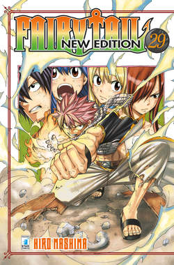 Copertina FAIRY TAIL NEW EDITION (m63) n.29 - FAIRY TAIL NEW EDITION, STAR COMICS