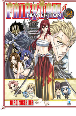 Copertina FAIRY TAIL NEW EDITION (m63) n.34 - FAIRY TAIL NEW EDITION, STAR COMICS