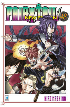 Copertina FAIRY TAIL NEW EDITION (m63) n.48 - BIG 57, STAR COMICS