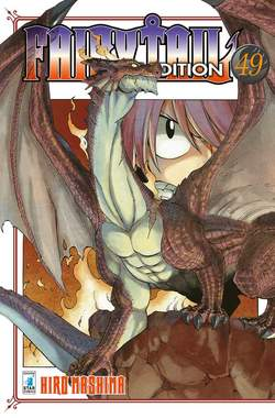 Copertina FAIRY TAIL NEW EDITION (m63) n.49 - BIG 59, STAR COMICS