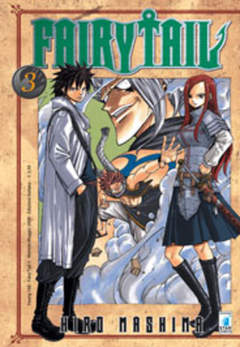 Copertina FAIRY TAIL n.3 - FAIRY TAIL, STAR COMICS