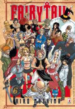 Copertina FAIRY TAIL n.6 - FAIRY TAIL, STAR COMICS