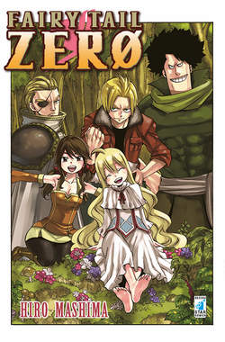 Copertina FAIRY TAIL n.zero - FAIRY TAIL ZERO, STAR COMICS