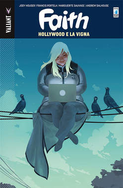 Copertina FAITH n.1 - HOLLYWOOD E LA VIGNA, STAR COMICS