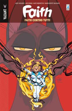 Copertina FAITH n.4 - FAITH CONTRO TUTTI, STAR COMICS