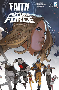 Copertina FAITH n.5 - FAITH E LA FUTURE FORCE, STAR COMICS