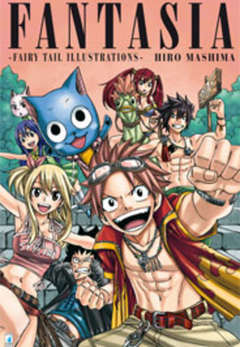 Copertina FANTASIA n. - FAIRY TAIL ILLUSTRATION, STAR COMICS