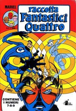 Copertina FANTASTICI QUATTRO Raccolta n.3 - FANTASTICI QUATTRO Raccolta   3, STAR COMICS