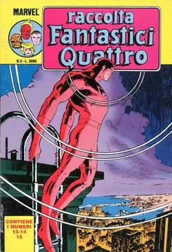 Copertina FANTASTICI QUATTRO Raccolta n.5 - FANTASTICI QUATTRO Raccolta   5, STAR COMICS