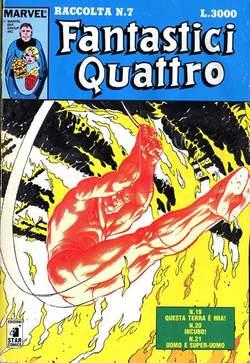 Copertina FANTASTICI QUATTRO Raccolta n.7 - FANTASTICI QUATTRO Raccolta   7, STAR COMICS
