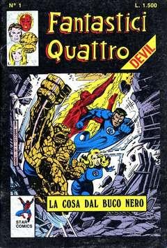Copertina FANTASTICI QUATTRO n.5 - SERIE COMPLETA, FANTASTICI QUATTRO 1/114, STAR COMICS