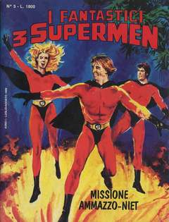 Copertina FANTASTICI 3 SUPERMEN n.5 - FANTASTICI 3 SUPERMEN        5, STAR COMICS