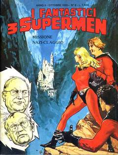 Copertina FANTASTICI 3 SUPERMEN n.8 - FANTASTICI 3 SUPERMEN        8, STAR COMICS
